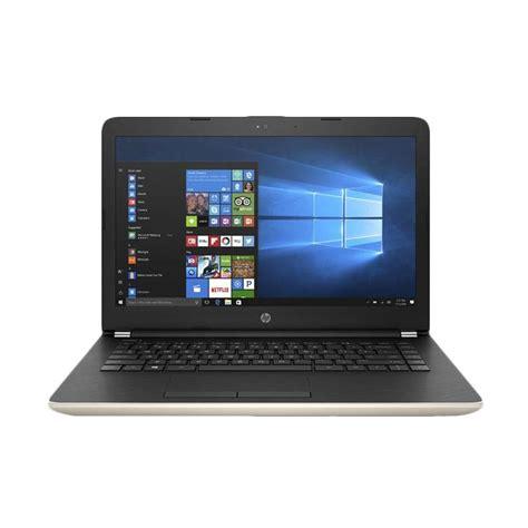 Notebook Hp 14 Bs006tx jual hp 14 bs006tx gold intel i3 6006u dual