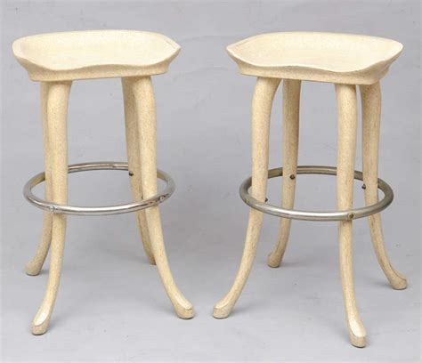 Hi Top Bar Tables by Marge Carson Elephant High Top Bar Table And Stools Image 9