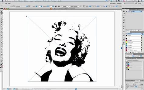 imagen blanco y negro en illustrator illustrator cs5 calco interactivo youtube