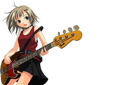 anime girl playing guitar wallpaper cute anime girl with guitar wallpaper wallpaper
