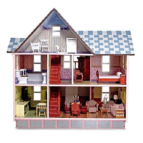 melissa and doug dolls house melissa doug classic heirloom victorian doll house