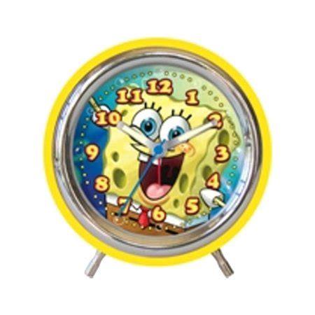 spongebob squarepants alarm clock walmart