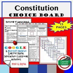 class constitution template civil rights movement choice boardthis is an civil