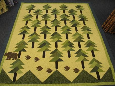quilt pattern pine tree forest quilt mountains pines pinterest trees
