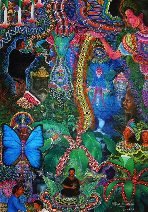 the psychedelic leap ayahuasca psilocybin and other visionary plants along the spiritual path books pablo amaringo shaman and painter dop