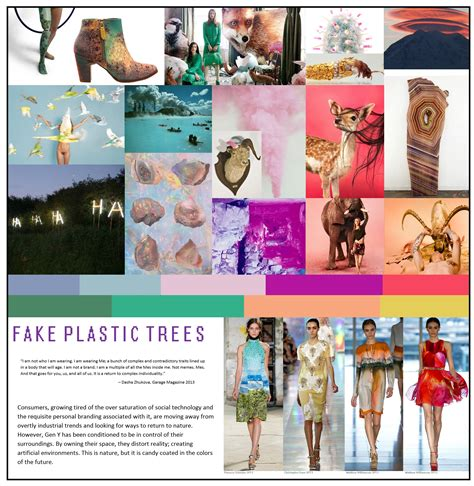 the trend book focuses of the trend forecasting for autumn 2014 trend forecast plastic trees jon at