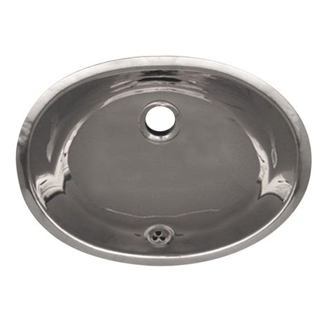 oval stainless steel bathroom sinks whitehaus collection oval undermounted bathroom in