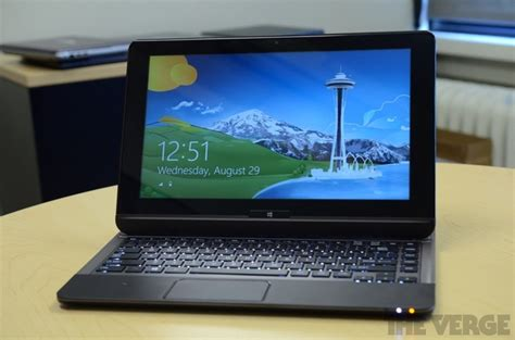 toshiba s u925t is a sliding convertible laptop running windows 8 the verge