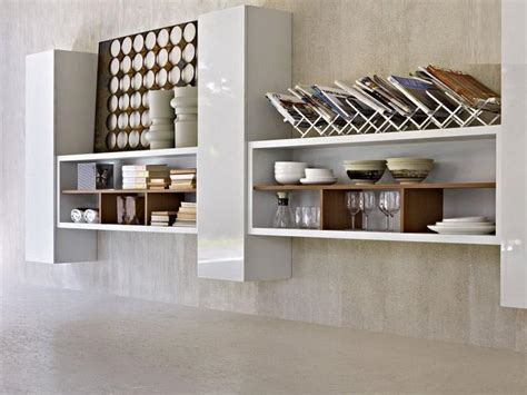 kitchen shelves design keep everything at with kitchen wall shelves best
