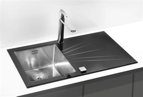 glass kitchen sink glass kitchen sink violet bespoke colour design