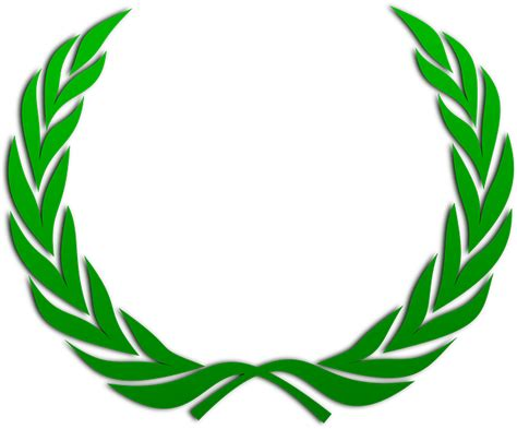 Laurel wreath wreath accolade winner award badge