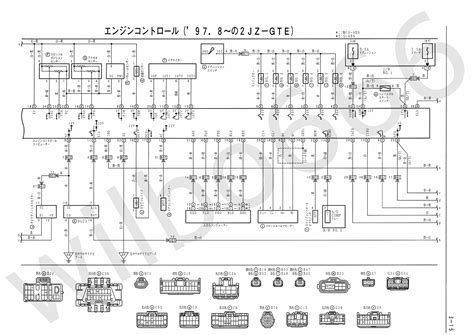wilbo666 2jz gte vvti jza80 supra engine wiring