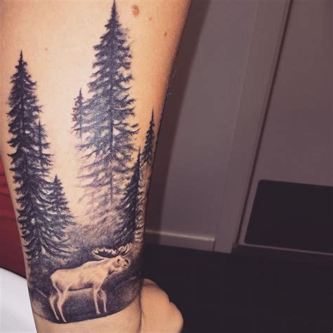 moose tattoo best 25 moose ideas on forest tattoos