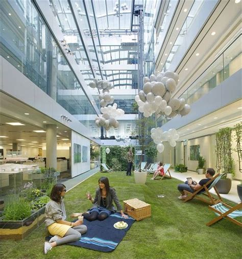 outdoor office space hok s new office in offices gardens and design