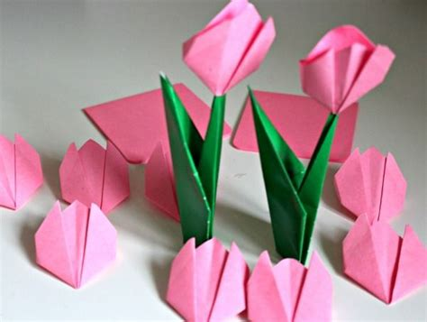 Post It Origami Flower - post it note crafts and activities something for