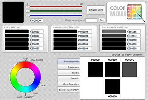 color combination finder thecolorwizard 50 best free tools to create perfect color