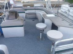 party boat fishing tarpon springs smoked glass table with cup holders for pontoon boats