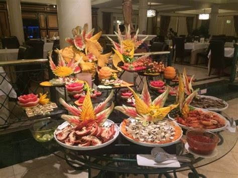 gala buffet lobster and massive prawns picture of