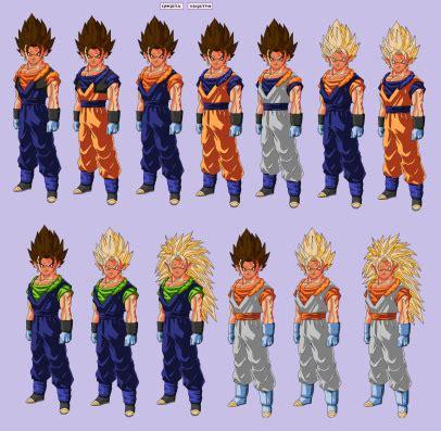 imagenes de goku todas las fusiones im 225 genes de dragon ball todas las fusiones im 225 genes