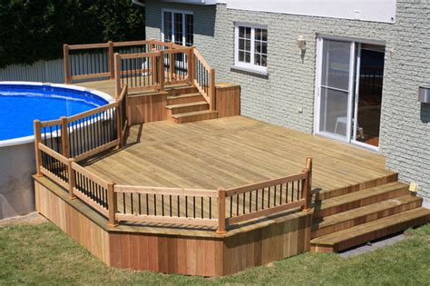 mobile home deck plans cathy saha on pinterest