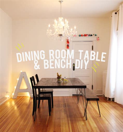 dining room bench table the unhandy man s guide to building a dining room table