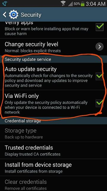 android security policy updates security policy update android forums at androidcentral