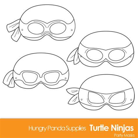 ninja mask coloring pages turtle printable coloring masks turtle mask turtles ninjas