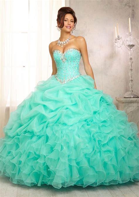 aqua colored dresses beautiful aqua colored quincea 241 era dress quinceanera