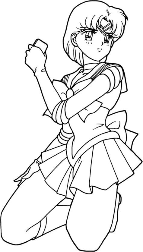 Sm Coloring Album Quot Sailor Mercury Quot Sailor Mercury Coloring Pages