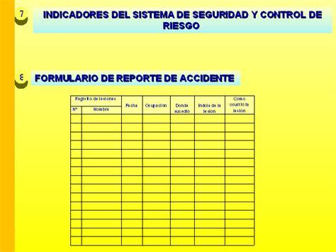 sistema de control de formularios sistema de seguridad y control de riesgo del centro