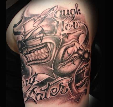 gangster clown tattoos gangsta ideas for gangster clown