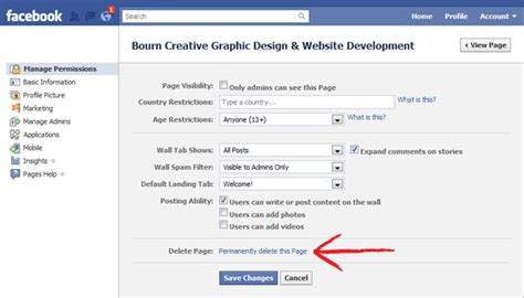 How to close fb account from mobile ccuart Choice Image