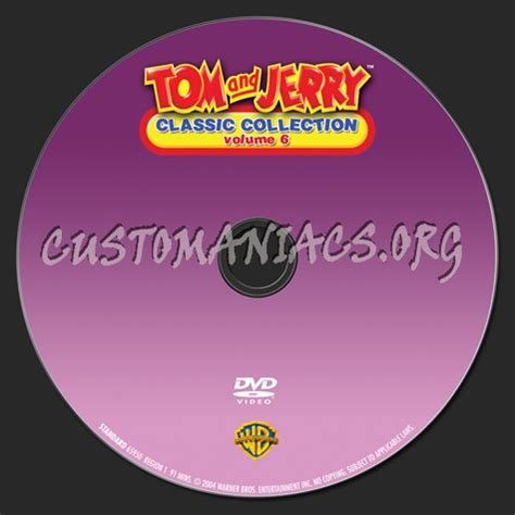 classic collection volume 1 0007336462 dvd covers labels by customaniacs view single post tom and jerry classic collection volume 6