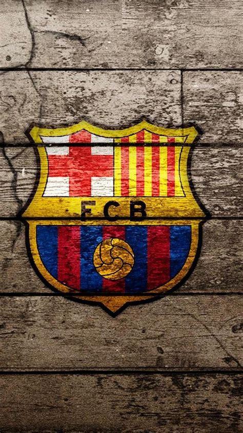 barcelona logo iphone  hd wallpaper wallpaperwiki