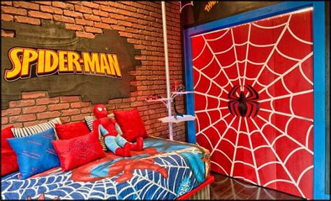 spiderman bedroom ideas decorating theme bedrooms maries manor superheroes