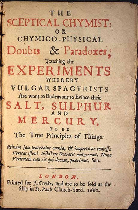 the sceptical chymist classics in chemistry series books hay exhibits the sceptical chymist or chymico physical