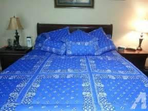 handmade bandana bedding set for sale in college station