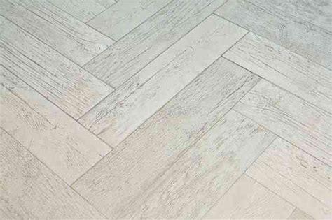 wood like tile white washed chevron farmhouse