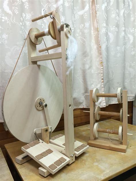 diy spinning wheel rouet filage de la laine  tissage