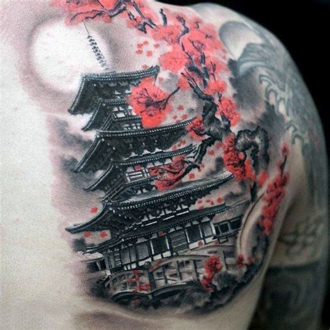 cherry blossom tattoo for men 125 best cherry blossom tattoos of 2018