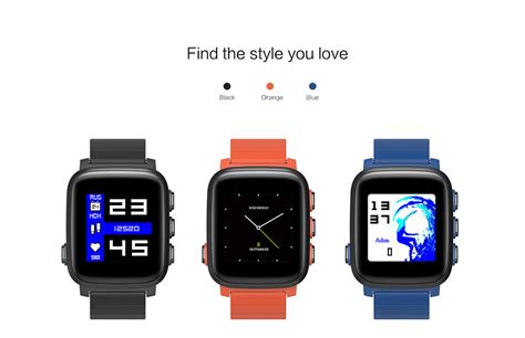 Q2 Smartwatch sma q2 smartwatch rate monitor blue