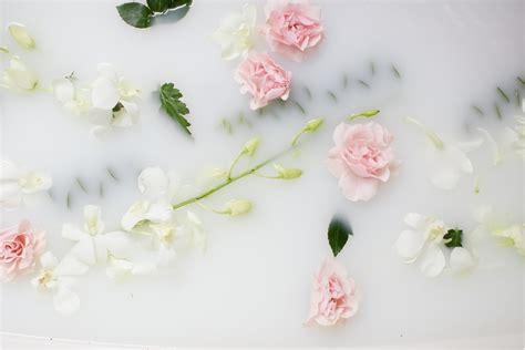 flowers in bathtub milk bath photography 187 allison shumate photography
