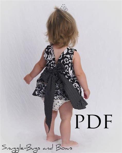simple pattern pinafore dress ruffled pinafore pattern easy girls sewing tutorial pdf