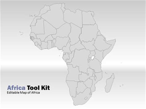 Africa Map Tool Kit A Powerpoint Template From Presentermedia Com Africa Powerpoint Template