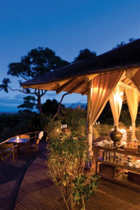 luxurious african safari camps departures