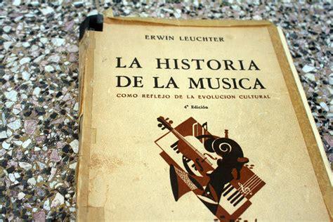 un libro por d 237 a libro invitado la historia de la m 250 sica como reflejo de la evoluci 243 n cultural