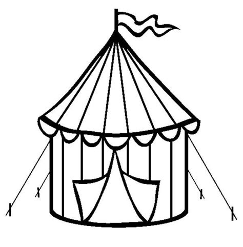 40 circus coloring pages coloringstar