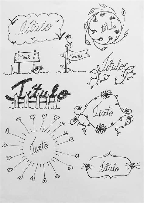 decorar titulos tumblr t 237 tulos e banners para decorar o caderno ou bullet journal