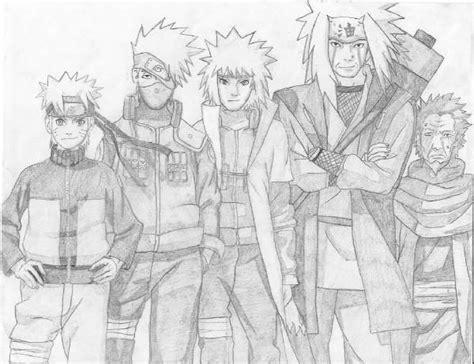 Pencil Kakashi Sai Anime pencil drawing by numzie on deviantart