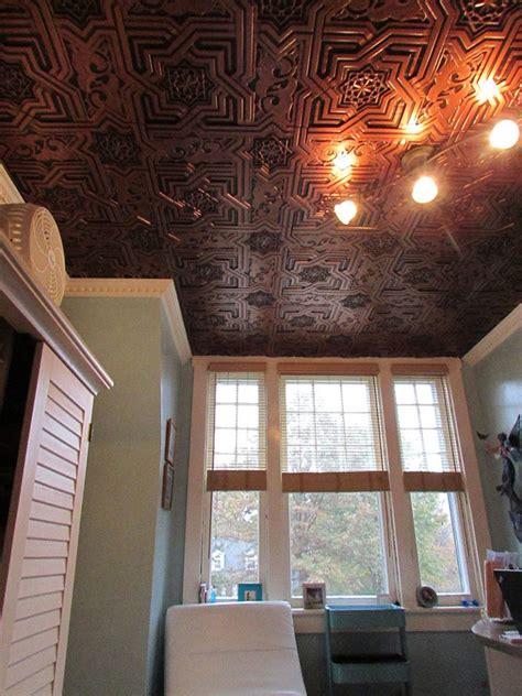 faux tin ceiling tiles glue up faux tin ceiling tiles glue up 24 x24